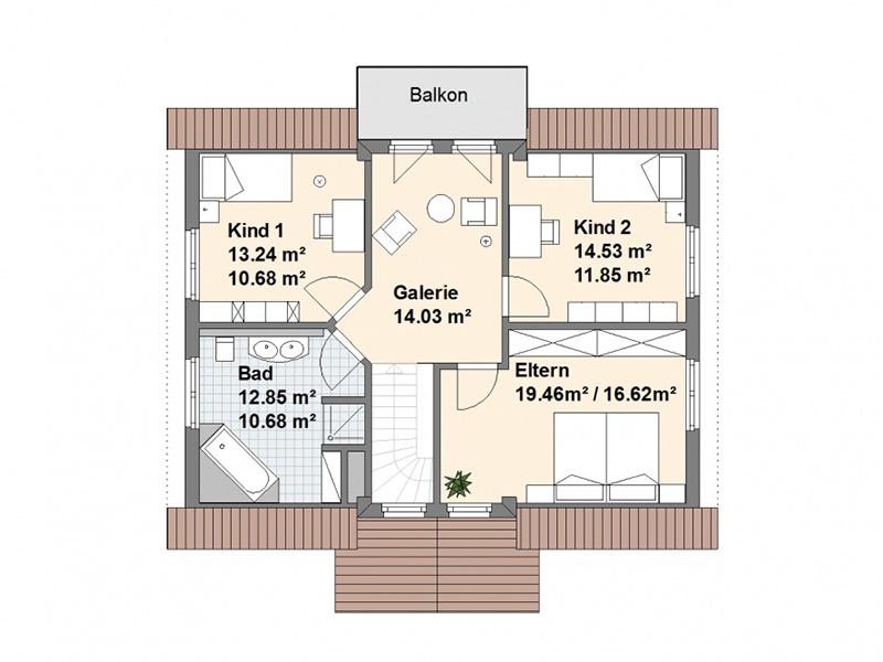 Satteldach Wittmund Dachgeschoss