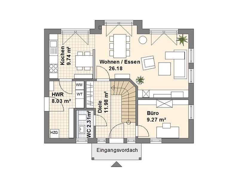 Schwedenhaus S Erdgeschoss