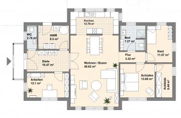 Haus Westerstede Grundriss