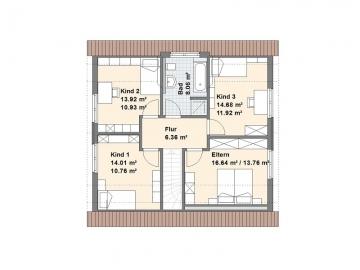 Eckernförde Grundriss Dachgeschoss