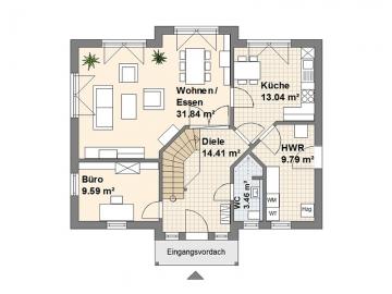 Schwedenhaus L Erdgeschoss