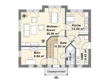 Schwedenhaus M Erdgeschoss