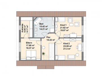 Zeven Dachgeschoss