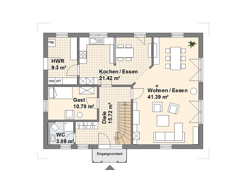 Zeven Erdgeschoss